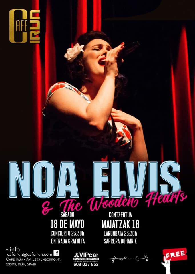 Café Irún Live   Noa Elvis